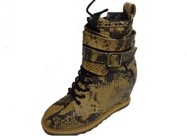 BE&D by Maison Dumain London Roccia Wedge Ankle High Women Laced Shoe - $54.99