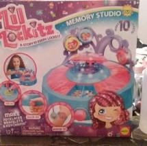 NEW Lil LOCKITZ Memory Studio Jewelry Making Craft Kit Charm 10 Lockets ... - $14.99