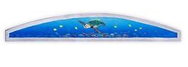 Sea Turtle Over Door plaque ocean art Nautical painting tortoise door to... - £37.81 GBP