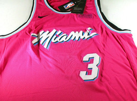 DWAYNE WADE / 13 X NBA ALL-STAR / AUTOGRAPHED MIAMI HEAT PRO STYLE JERSEY / COA image 2