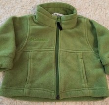 Columbia Boys Green Fleece Long Sleeve Winter Snow Jacket 18 Months - $16.93