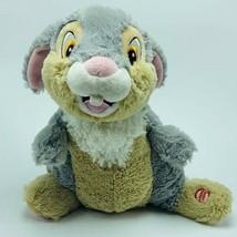 Walt Disney Plush stuffed animal vtg Bambi Thumper Talking electronic Ha... - $48.19