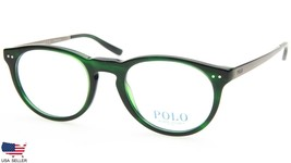 New Polo Ralph Lauren Ph 2168 5125 Vintage Green Eyeglasses Frame 48-20-145 B39 - $98.98