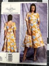 Vogue Tracy Reese Pattern V1397 SZ 14-16-18-20-22 Misses Dress Uncut  - $10.00