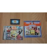 Nicktoons UNITE Nintendo Game Boy Advance GBA + Manual / Insert Nick Nic... - $9.40