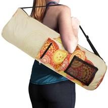 RoryTory YOGA Mat Bag Adjustable Strap Water Bottle Carrier Mandala Pockets - $323,75 MXN