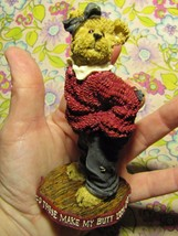"""Retired 2004 Boyd's Bears """"Uneeda Biggersize...These Must of Shrunk"""" Fig... - $13.99"""