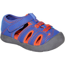 Garanimals Toddler Boys Sport Sandals Blue & Orange Size 3 New - $13.85