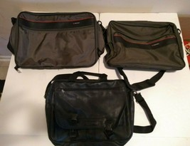 Lot of 3 Bags Vintage Delsey Renwick Duffle Bag Laptop - $16.82