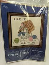 Something Special Cross Stitch Kit Love My Cat 20116 - $12.95