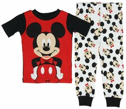 Diseny Baby Infant Toddler Boys Pajamas 2pc Set Mickey Mouse 18M or 24M NWT - $9.74