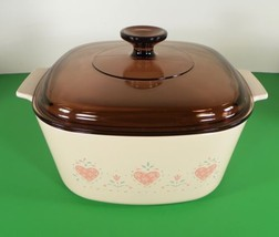 Corning Ware FOREVER YOURS 3 Quart Square Casserole with Lid A-3-B - $29.65