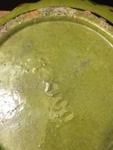 """Vintage 50s Tlaquepaque Mexican Pottery 9 1/2"""" Salad Bowl image 11"""