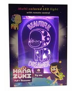 Aloka Hana Zuki-Dreamer Starlight LED Muilti-Colored Night Light with Re... - $24.85