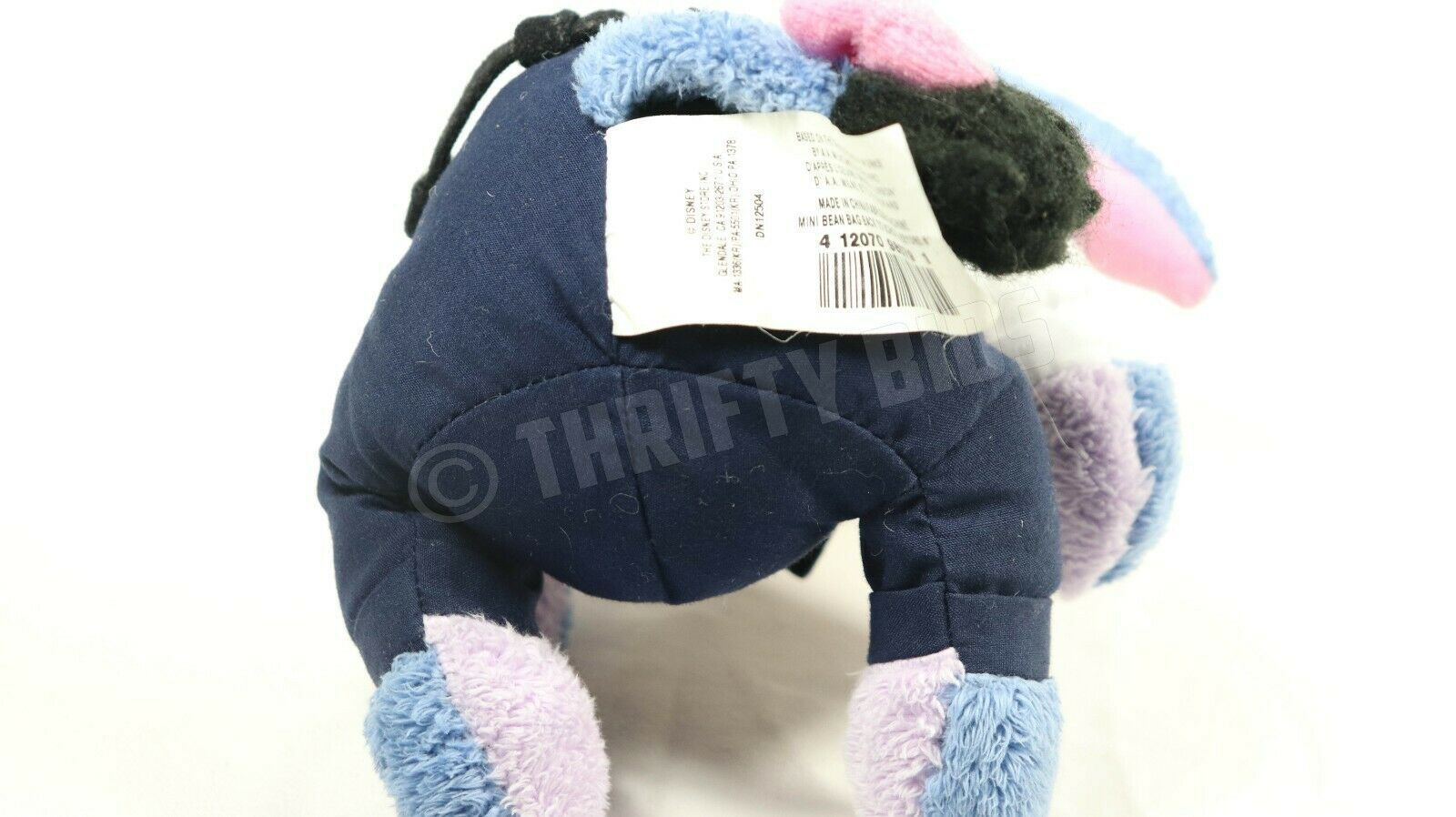 Rare Eeyore Teacher No 1 Stuffed Plush Toy Disney Store Mini Bean Bag