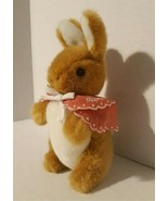 """Vintage 9"""" plush Mopsy Rabbit /From The tale of Peter Rabbit Storybook E... - $16.92"""