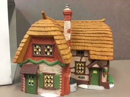 DEPARTMENT 56 Cobb Cottage #5824-6 Hand Painted Porcelain Dickens Villag... - $41.57