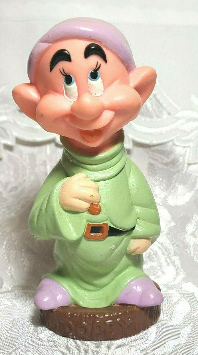 VINTAGE Dopey PVC DISNEY SNOW WHITE & THE SEVEN DWARFS 5 1/2""