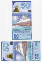 2012 UNC /> Ship POLYMER LOT New Jason Islands 3 x 50 Australes