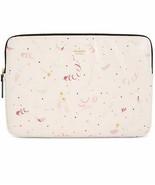 "Kate Spade 15"" Laptop Sleeve Case Champagne Print - $64.34"