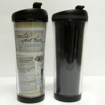 STARBUCKS COFFEE COMPANY 2008 16 oz Plastic Create Your Own Travel Tumbl... - $29.83