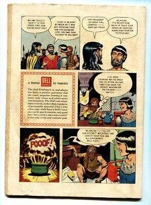 PRINCE VALIANT FOUR COLOR #699 1956-DELL COMICS-WAR VG image 2