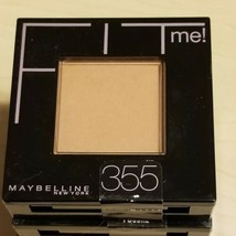 Maybelline Fit Me Pressed Powder Compact #355 Coconut - $5.47
