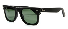 Ray Ban 2140 901S Matte Black Wayfarer Sunglasses 50mm Gray Lenses New G... - $103.90