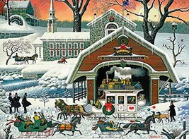 Buffalo Games - Charles Wysocki - TWAS' The Twilight Before Christmas - 1000 Pie - $15.88