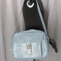 Vintage Classico American Tourister Celeste Borsa da Volo Messaggero Bag... - $27.64