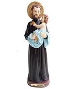 Saint Cayetano Statue Catholic Religious Holy Figurine 8 Inch - $19.03