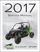 2017 Arctic Cat Wildcat Sport Service Manual on a CD - $12.99
