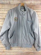 Vtg FAA Jacket Coat Federal Aviation Administration Patch Gray S Small 8... - $44.12