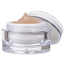 1.7oz Vivo Facial Peeling Gel With Dead Sea Minerals For Oily Dry Sensit... - $14.01