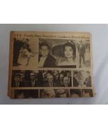 ORIGINAL November 23 1963 Pittsburgh Post Gazette JFK Kennedy Memorial N... - $29.69