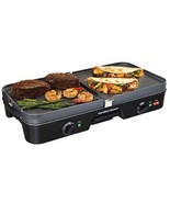 Electric Reversible Grill & Griddle Counter Cooker Machine Iron Indoor K... - $61.30