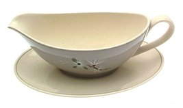 Royal Doulton Frost Pine Royal Doulton D6450 Gravy Boat and Underplate - $63.69
