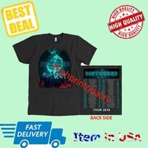 New Shirt Disturbed Evolution Tour 2019 T-Shirt Men's Black Official Siz... - $23.99+