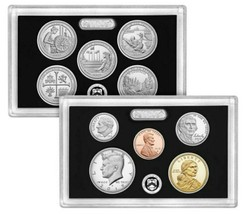2019 S 10 Coins ( .999 Fine Silver ) Proof Set Complete Box and COA No W penny  image 2