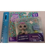 Littlest Pet Shop Series 1 107 & 108 Weimaran Mailman Family Dad Dog & P... - $8.00