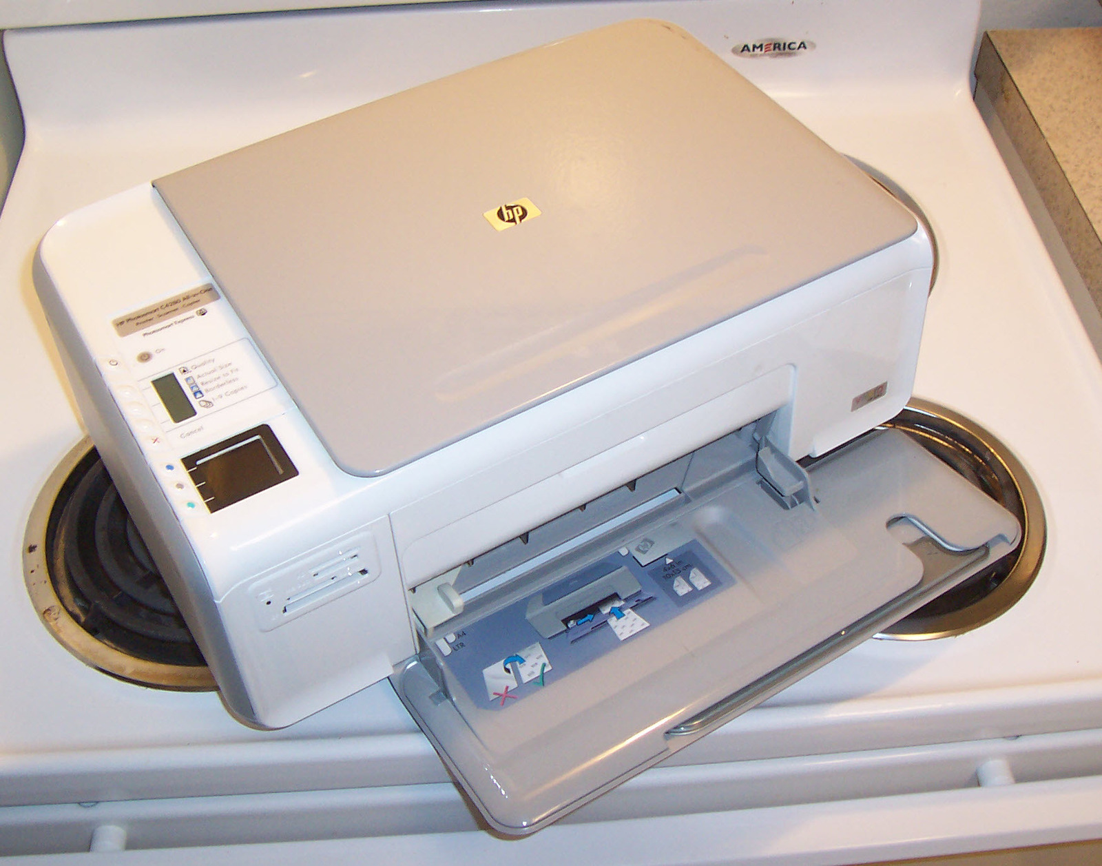 Mitigation Photos - A1 Radon Services, LLC Hp photosmart c4583 all in one printer