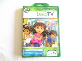 LeapFrog Leap TV Dora And Friends Video Game Cartridge Mathematics BRAND... - $14.99