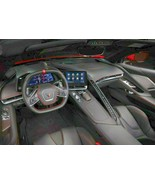 2020 Corvette Stingray interior | 13x19 inch poster - $14.84