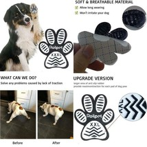 Dog Paw Defense Shield Protection Shoes Boot Traction Anti Slip Pads Gri... - $34.58