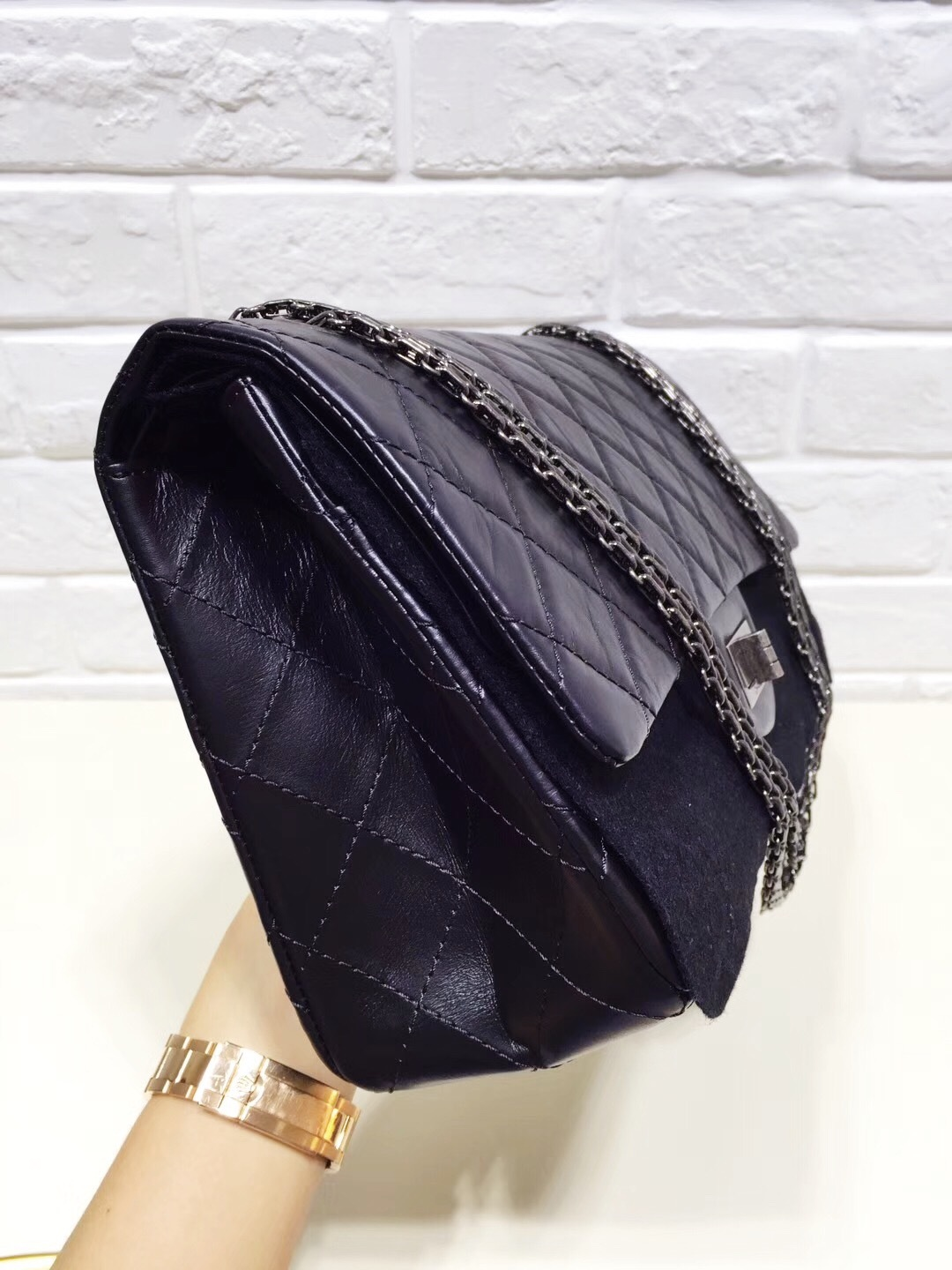 2bce071c8d20 Authentic Chanel 2.55 Classic Reissue Black and 50 similar items
