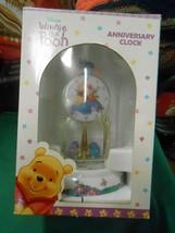 NIB- Disney's WINNIE THE POOH Anniversary CLOCK - $19.39