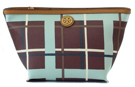 NIB Tory Burch Beach Kerrington Triangle Cosmetic Case Bag - $92.65