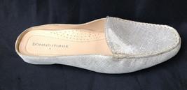$188.88 Donald J. Pliner Lovage Gold Vintage Metallic Leather Loafer Mule 6.5 - $52.87