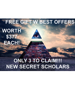 ONLY 3 AVAILABLE W BEST OFFERS! NEW FREE OOAK 7 SCHOLARS GIFT WORTH $377... - $0.00