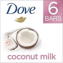 Dove More Moisturizing than Coconut Soap Bars, Coconut Milk (Coconut Milk) - $14.76